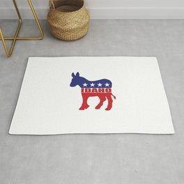 Idaho Democrat Donkey Rug