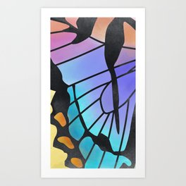 Watercolor Butterly Art Print