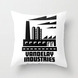 Vandelay Industries Throw Pillow
