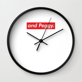 Peggy Too Wall Clock