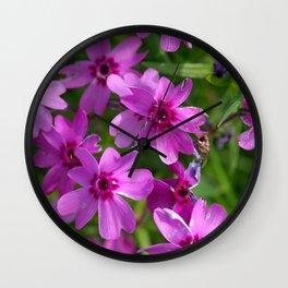 Flowers Izby Garden 6 Wall Clock