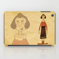 popeye iPad Cases featuring Olive Oyl by Celine Billy