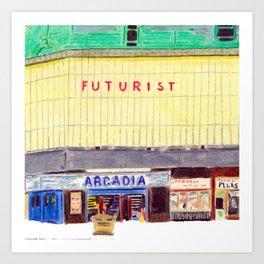 THE FUTURIST Art Print