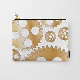 Cogs and Gears Carry-All Pouch