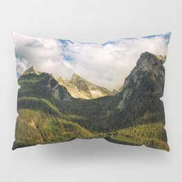 All That Is Above - Mountainscape Pillow Sham