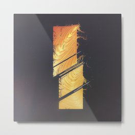 DAY 96: IKEGAWA HONEYHANDS Metal Print