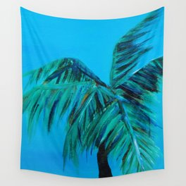 Palm Oasis Wall Tapestry