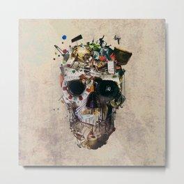 Istanbul Skull 2 Metal Print