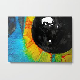 Perspective in Colour Metal Print