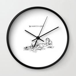 TPoH: Creative Minds Wall Clock
