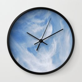 Clouds and sky Wall Clock