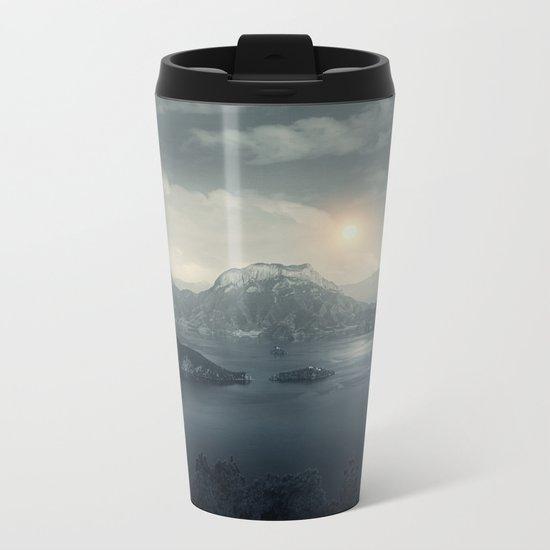 Silent sunset Metal Travel Mug