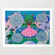 Dance Of Fascination Art Print