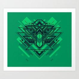 Cyber Bird Art Print