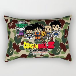 dragon ball bape Rectangular Pillow