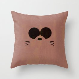 Minimalist Boota Throw Pillow
