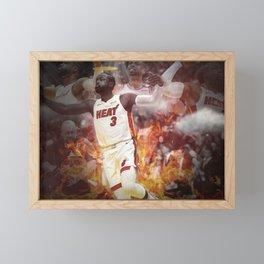 Dwyane Wade Framed Mini Art Print