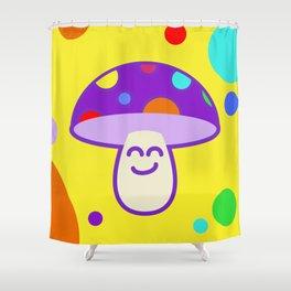 Shroomie - The friendly Magic Mushroom Shower Curtain