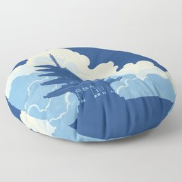 Nara Skyline Floor Pillow