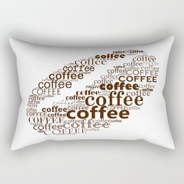 Coffee bean Rectangular Pillow