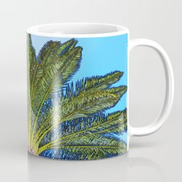 Palm Tree Fronds Coffee Mug