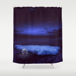If not us, who? If not now, when? Shower Curtain