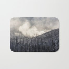 Steamy Forest -  Yellowstone National Park Bath Mat