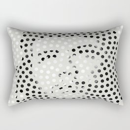 Optical Illusions - Iconical People 5 Rectangular Pillow