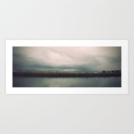 Rainstorm at Claddagh Art Print