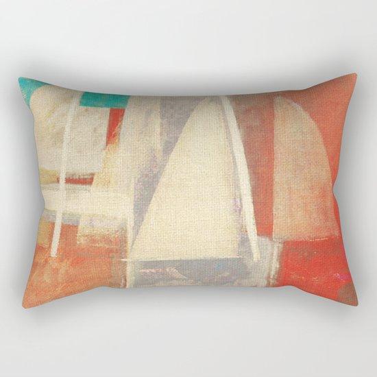 Battle of Sails Rectangular Pillow