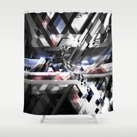 sonic Shower Curtains featuring Sonic by Herwig Scherabon
