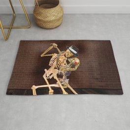 Dancing Skeletons Rug