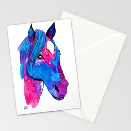Caballo Lunar Stationery Cards
