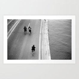 There they go. Art Print
