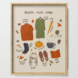 Autumn must-haves Serving Tray