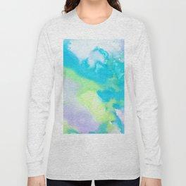 watercolor monsters Long Sleeve T-shirt