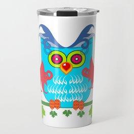 Mr Owl Travel Mug