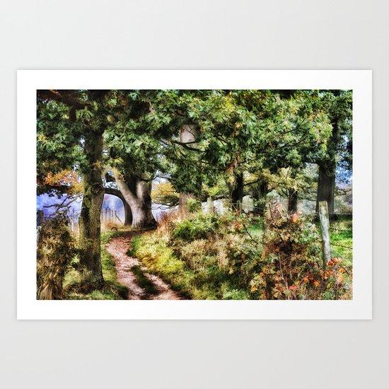 Fairytale Land Art Print