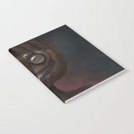 Scary Smile Notebook