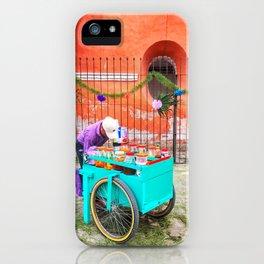 Raspado Cart, Holy Week 2017 iPhone Case