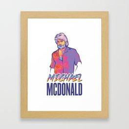 Michael McDonald Framed Art Print