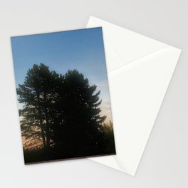 Time change Full Moon Sunset 2020 Stationery Cards