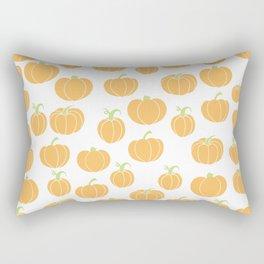 Pumpkins Galore - A Pumpkin Patch Pattern  Rectangular Pillow