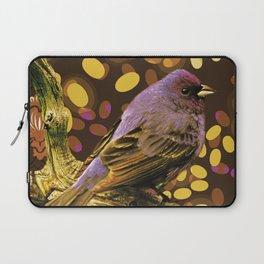 Brown Sparrow Laptop Sleeve
