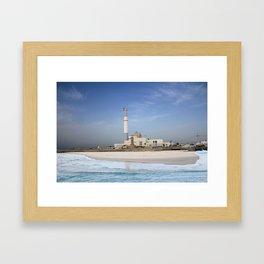 Tel Aviv photo - Reading power station Framed Art Print