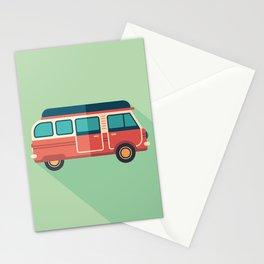 Retro Minivan Stationery Cards
