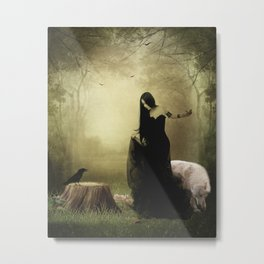 Maiden of the forest Metal Print