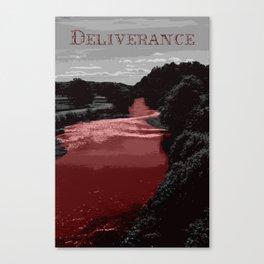 Deliverance Poster Canvas Print