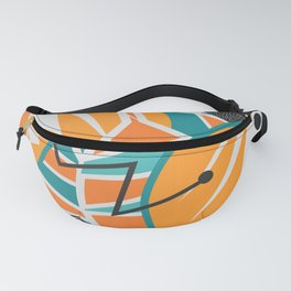 Modern decor with two quails Fanny Pack