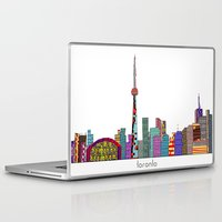 toronto Laptop & iPad Skins featuring Toronto by bri.buckley